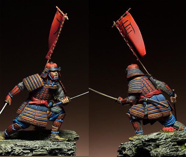 Figures: Samurai, XVI cent.