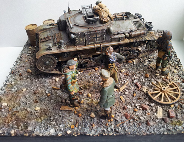 Dioramas and Vignettes: Somewhere in Europe. 1944