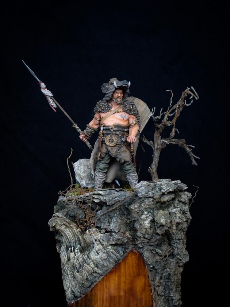 Figures: Noble Germanic warrior. 9 A.D., photo #1