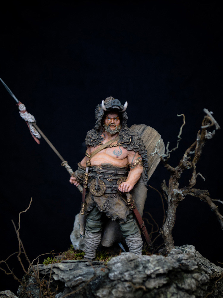 Figures: Noble Germanic warrior. 9 A.D., photo #2