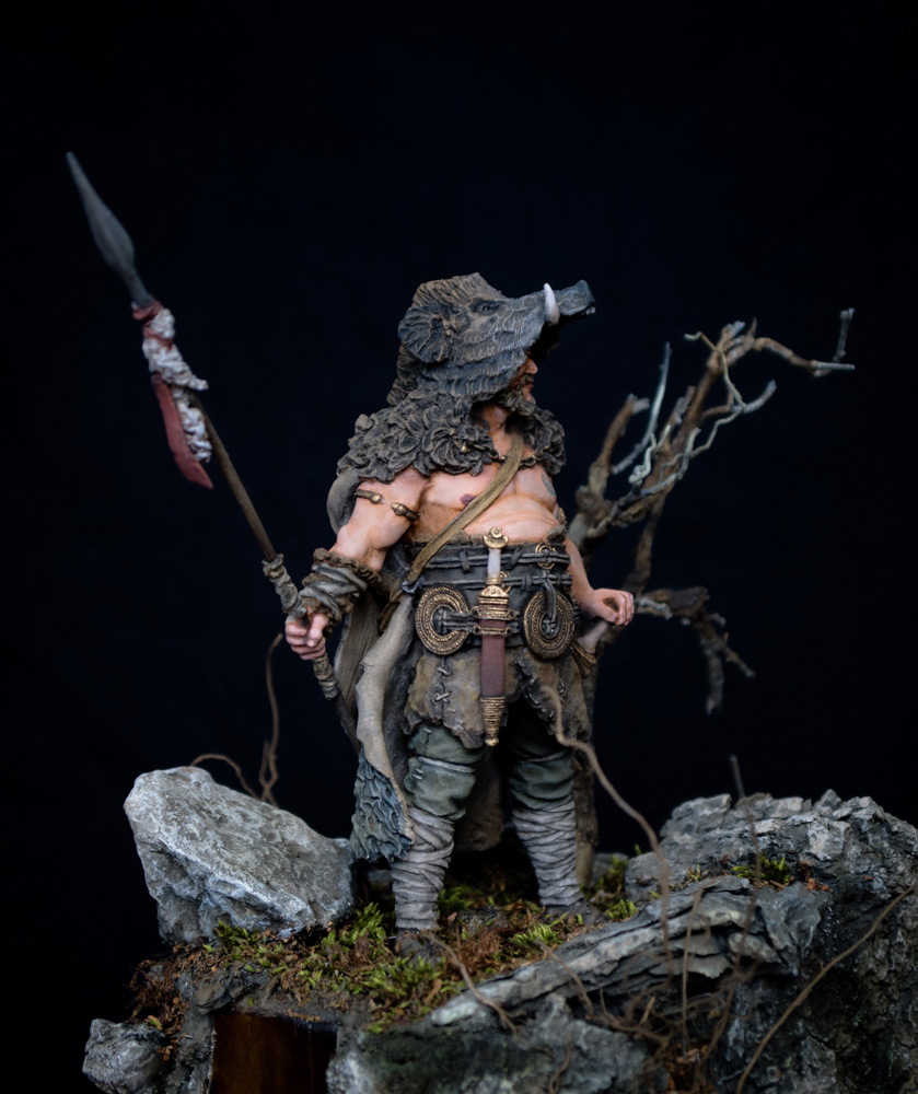Figures: Noble Germanic warrior. 9 A.D., photo #3