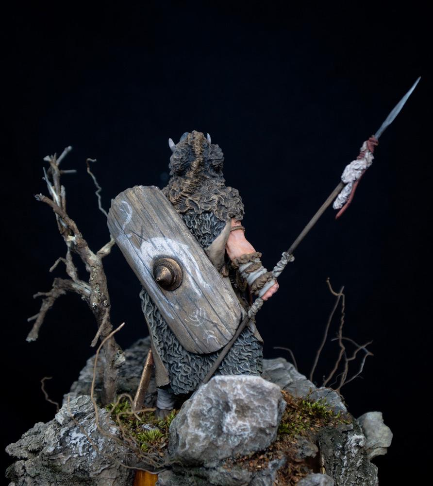 Figures: Noble Germanic warrior. 9 A.D., photo #4