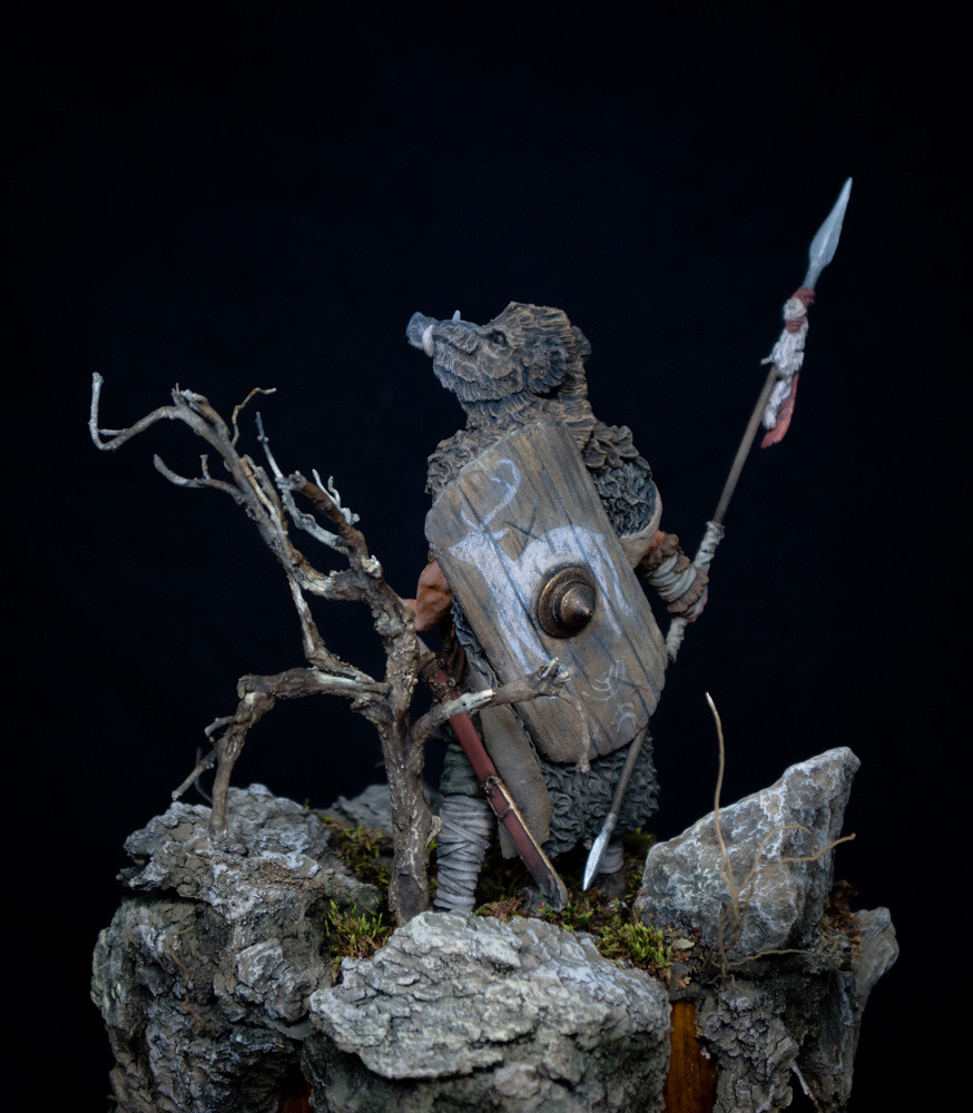 Figures: Noble Germanic warrior. 9 A.D., photo #5
