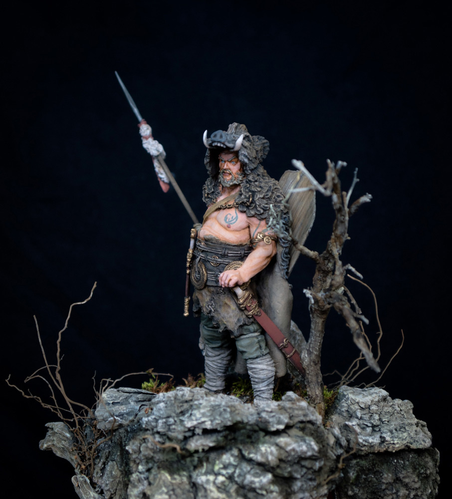 Figures: Noble Germanic warrior. 9 A.D., photo #6
