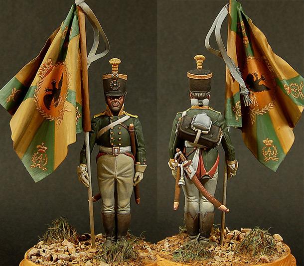 Figures: Ensign, Perm musketeers regt., 1806