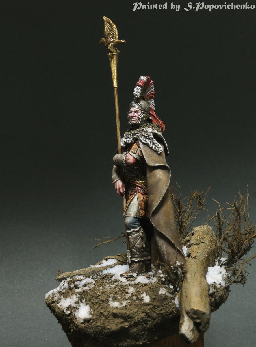 Figures: Lucius Sertorius Firmus, Aquilifer Legio XI, photo #5