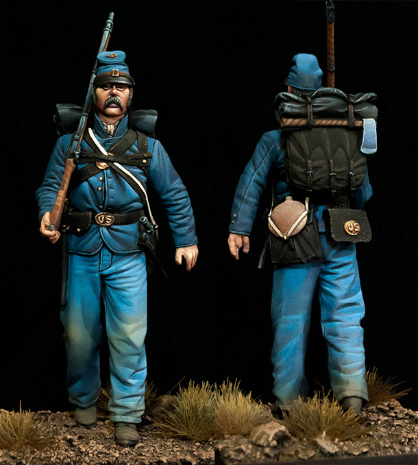 Figures: Union trooper