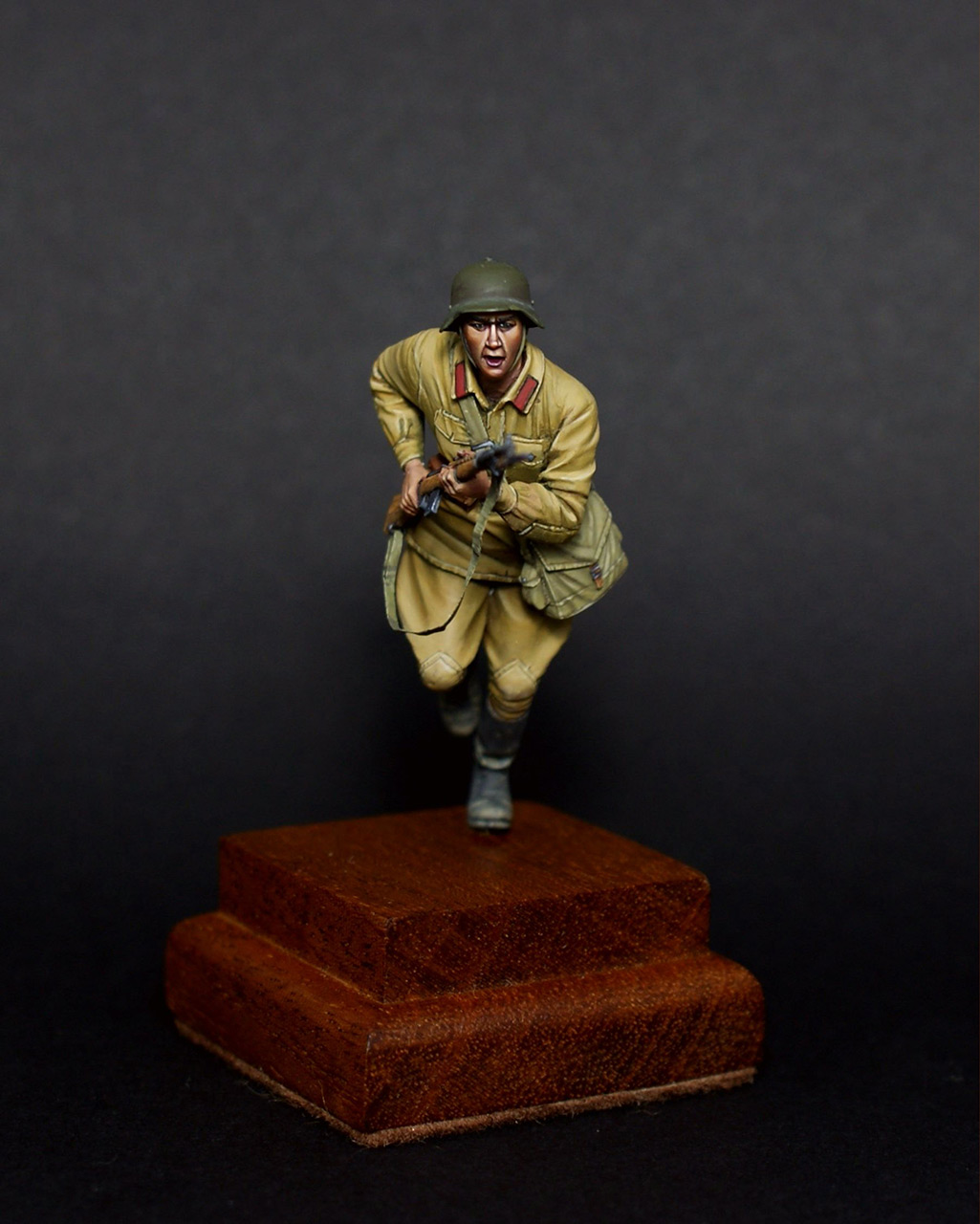 Figures: Red army trooper, 1941, photo #6