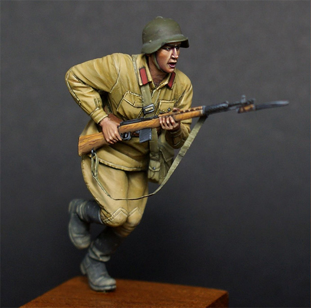 Figures: Red army trooper, 1941
