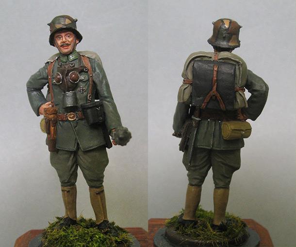 Figures: Infantry leutenant, Germany, 1918