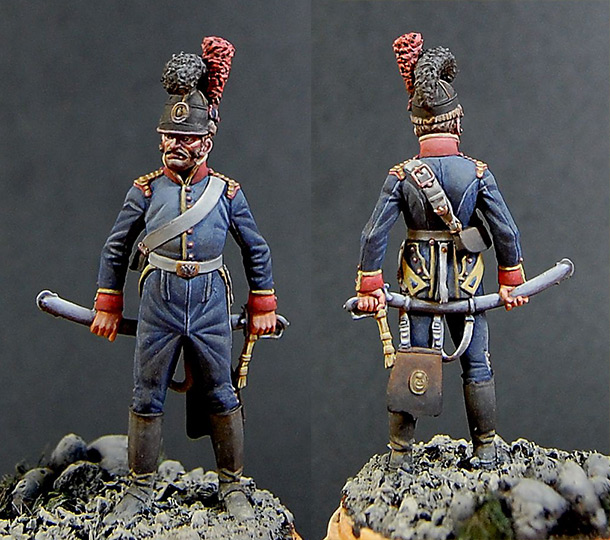 Figures: Private, 6th cavalry regt., Portugal, 1806