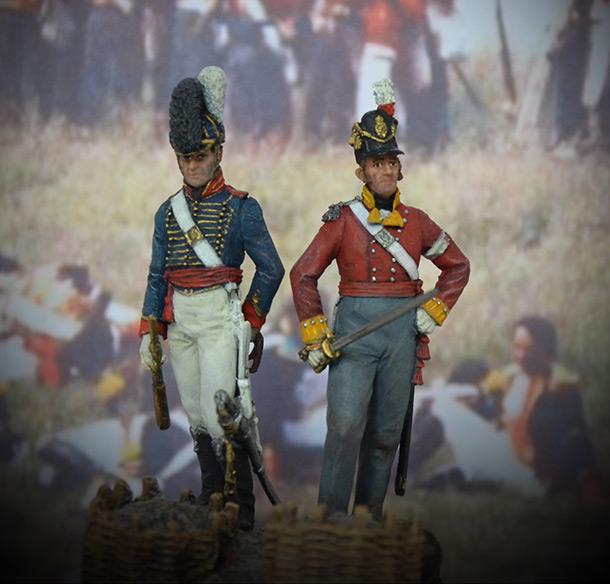 Figures: Waterloo. The End