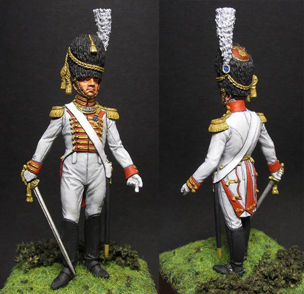 Figures: Guard grenadiers officer, Westfalia