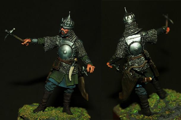 Figures: Turkish warrior, XVI cent.