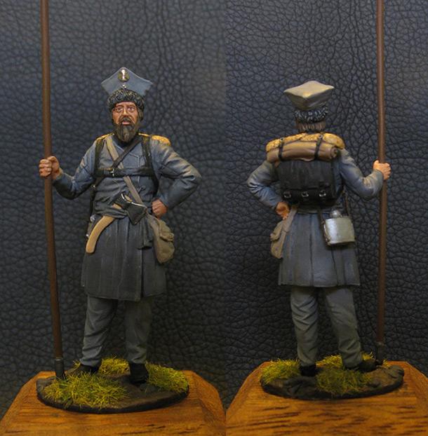 Figures: Ratnik, Nizhny Novgorod home guard, Russia, 1812-13