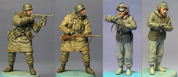 Figures: German Soldiers