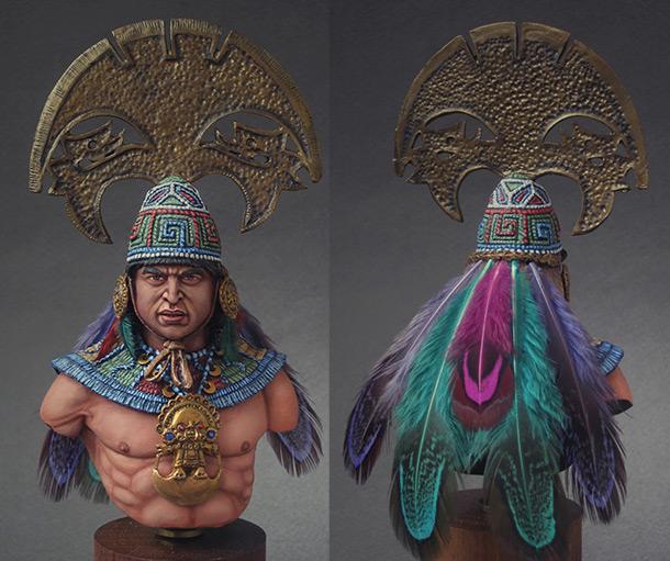 Figures: Mochica warrior