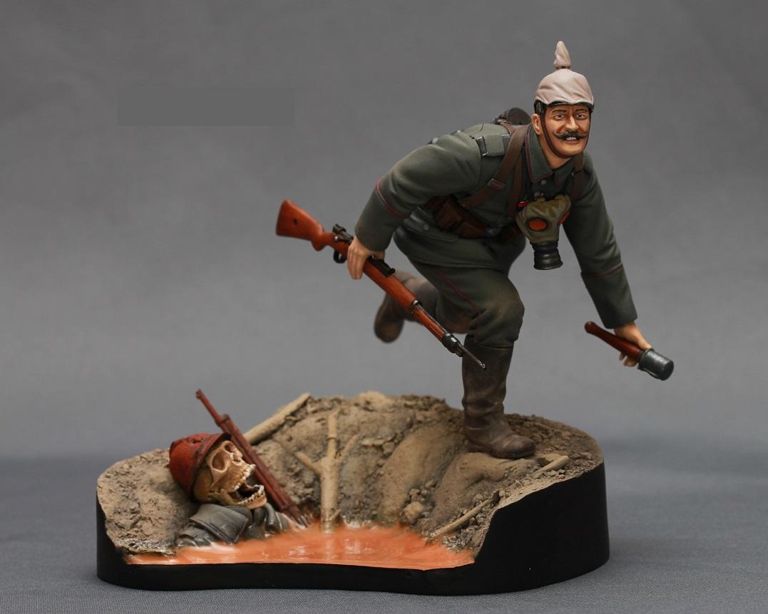Figures: WWI German infantryman, photo #1