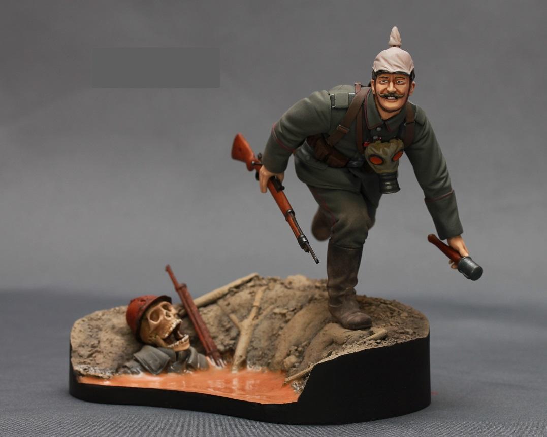 Figures: WWI German infantryman, photo #2
