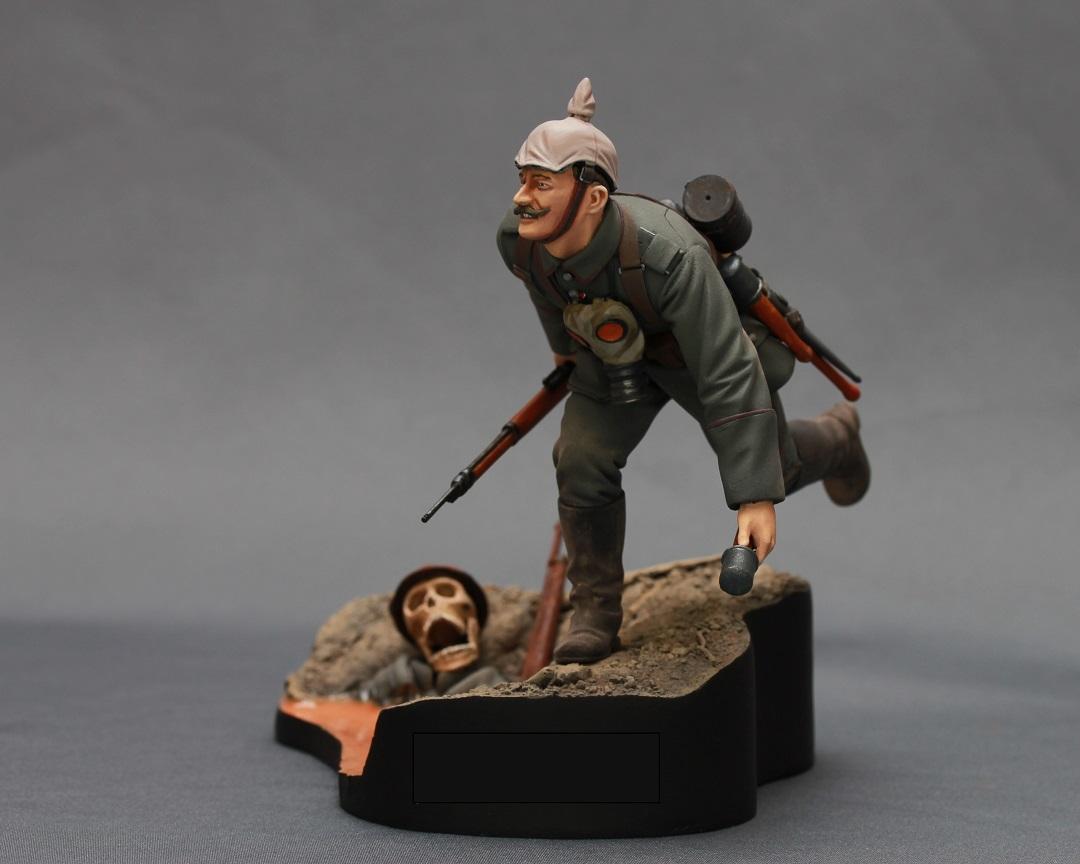 Figures: WWI German infantryman, photo #3
