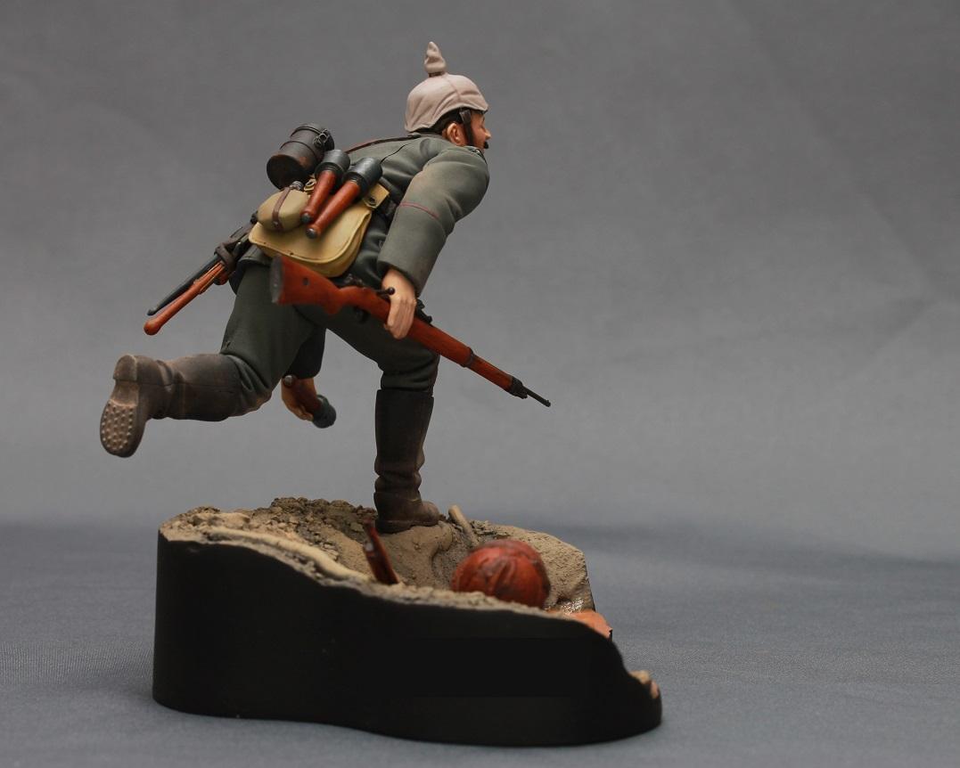 Figures: WWI German infantryman, photo #5