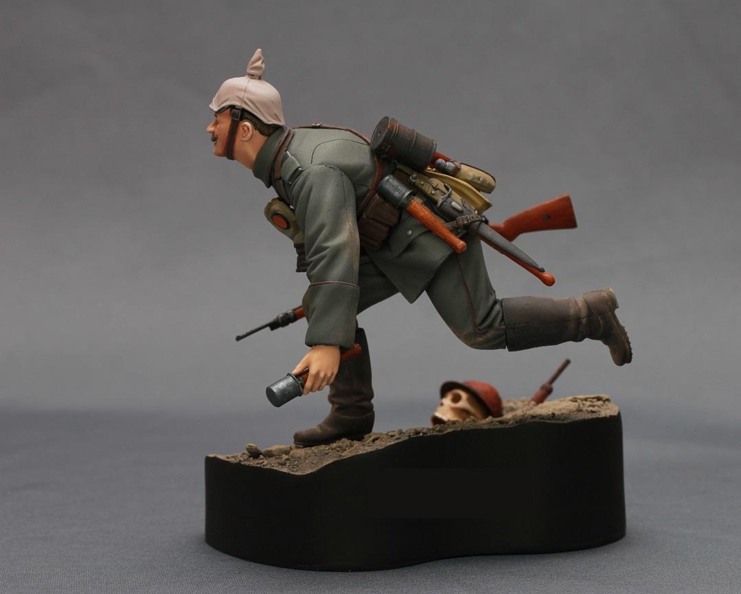Figures: WWI German infantryman, photo #6