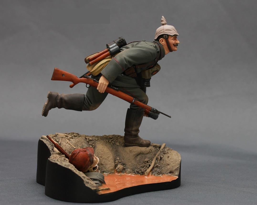 Figures: WWI German infantryman, photo #7