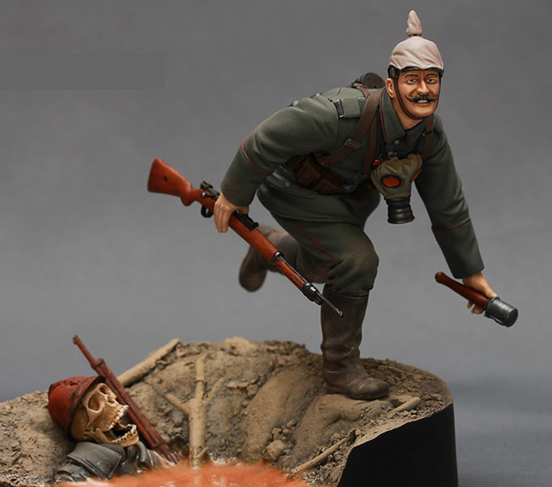 Figures: WWI German infantryman