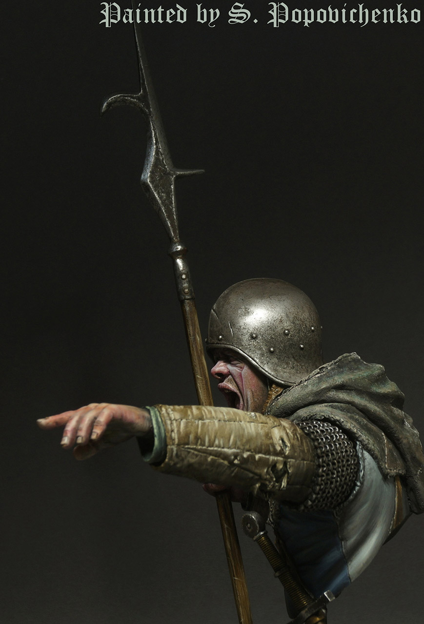 Figures: Medieval infantryman, photo #5