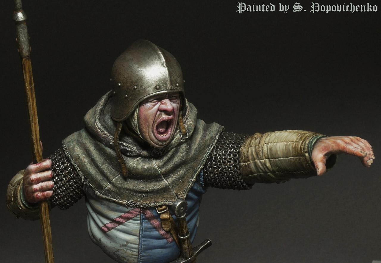 Figures: Medieval infantryman, photo #7