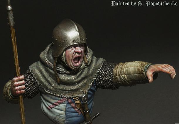 Figures: Medieval infantryman