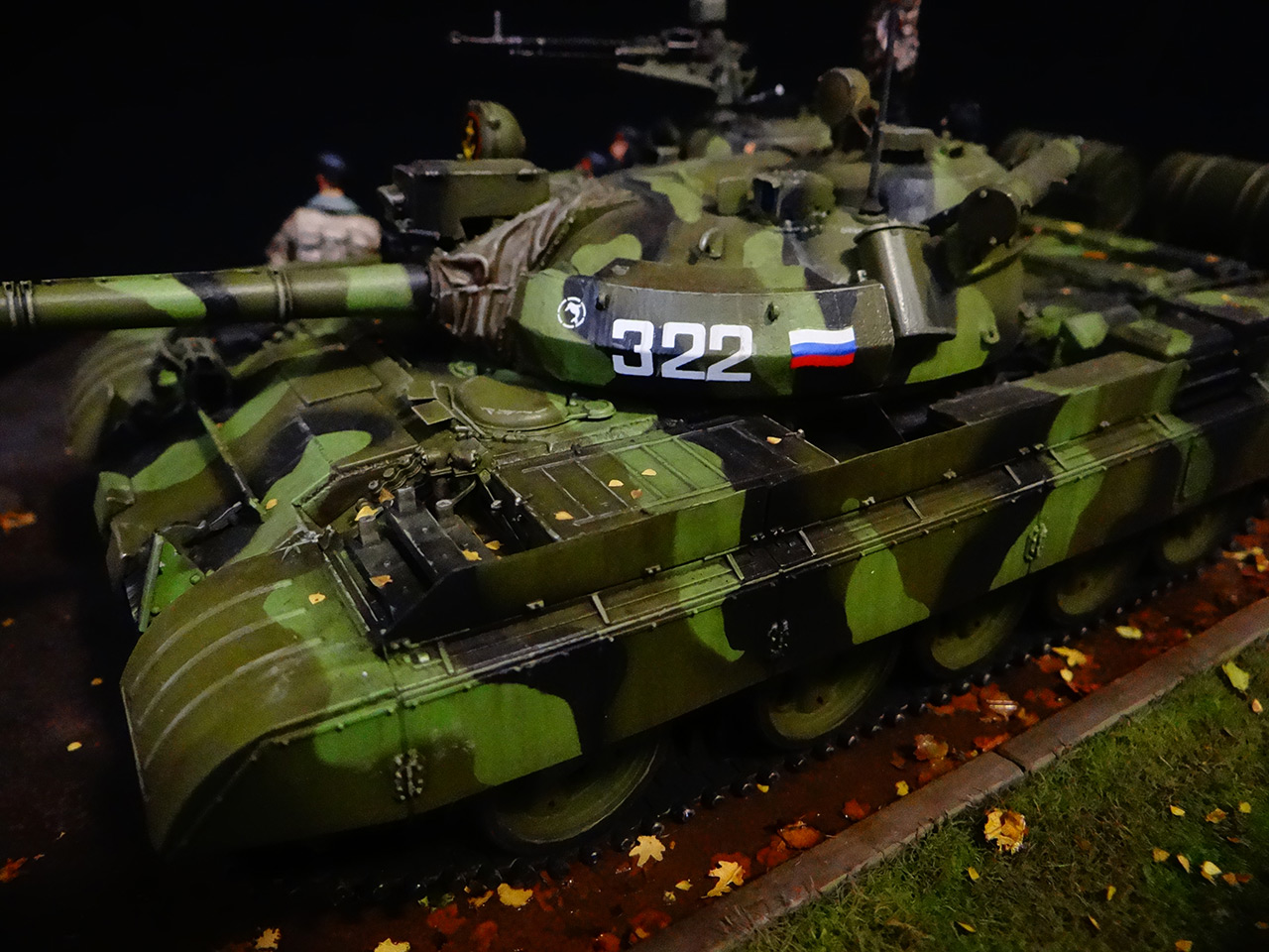 Dioramas and Vignettes: T-55AM, Russian Marines, photo #10