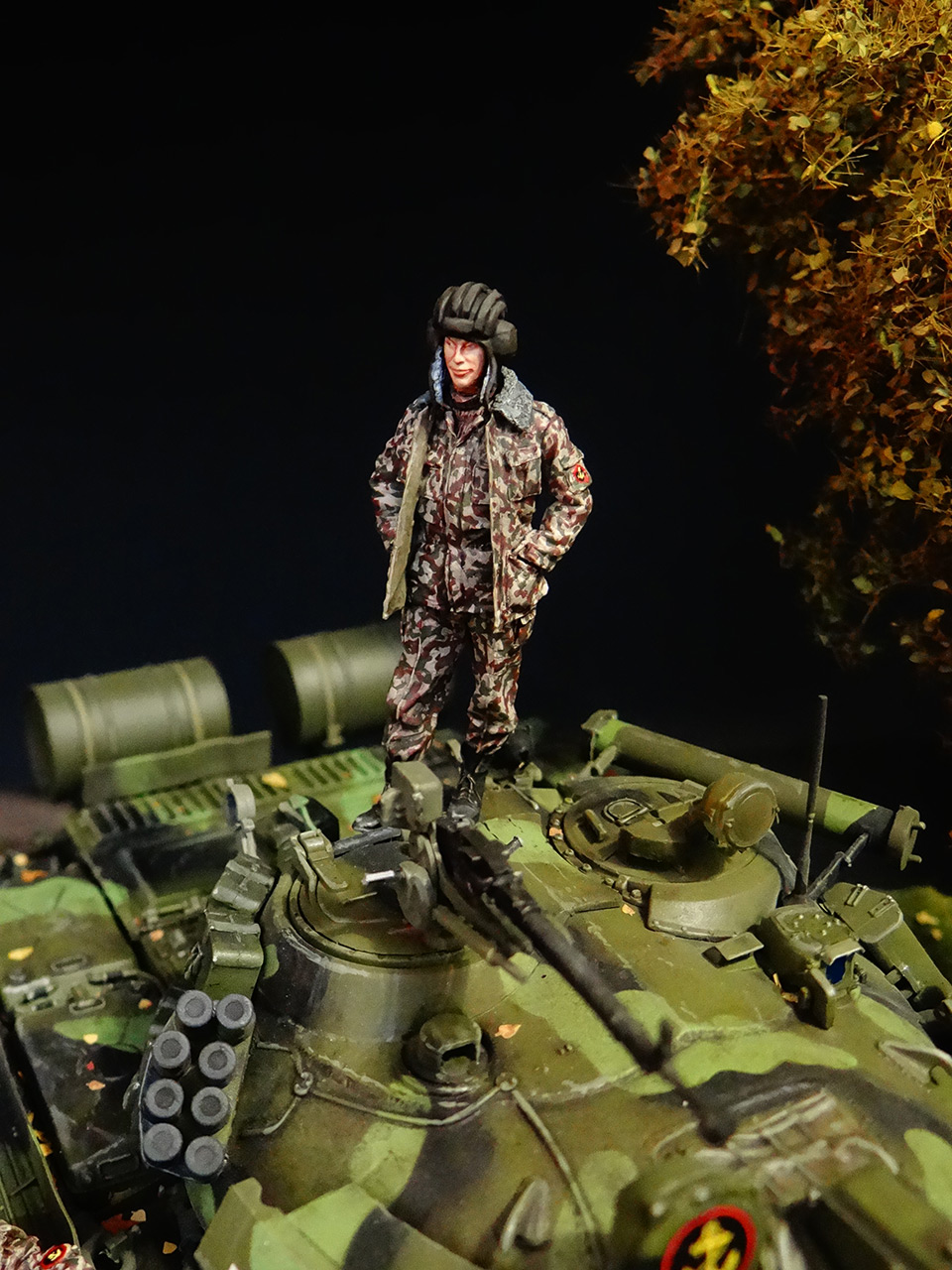 Dioramas and Vignettes: T-55AM, Russian Marines, photo #11