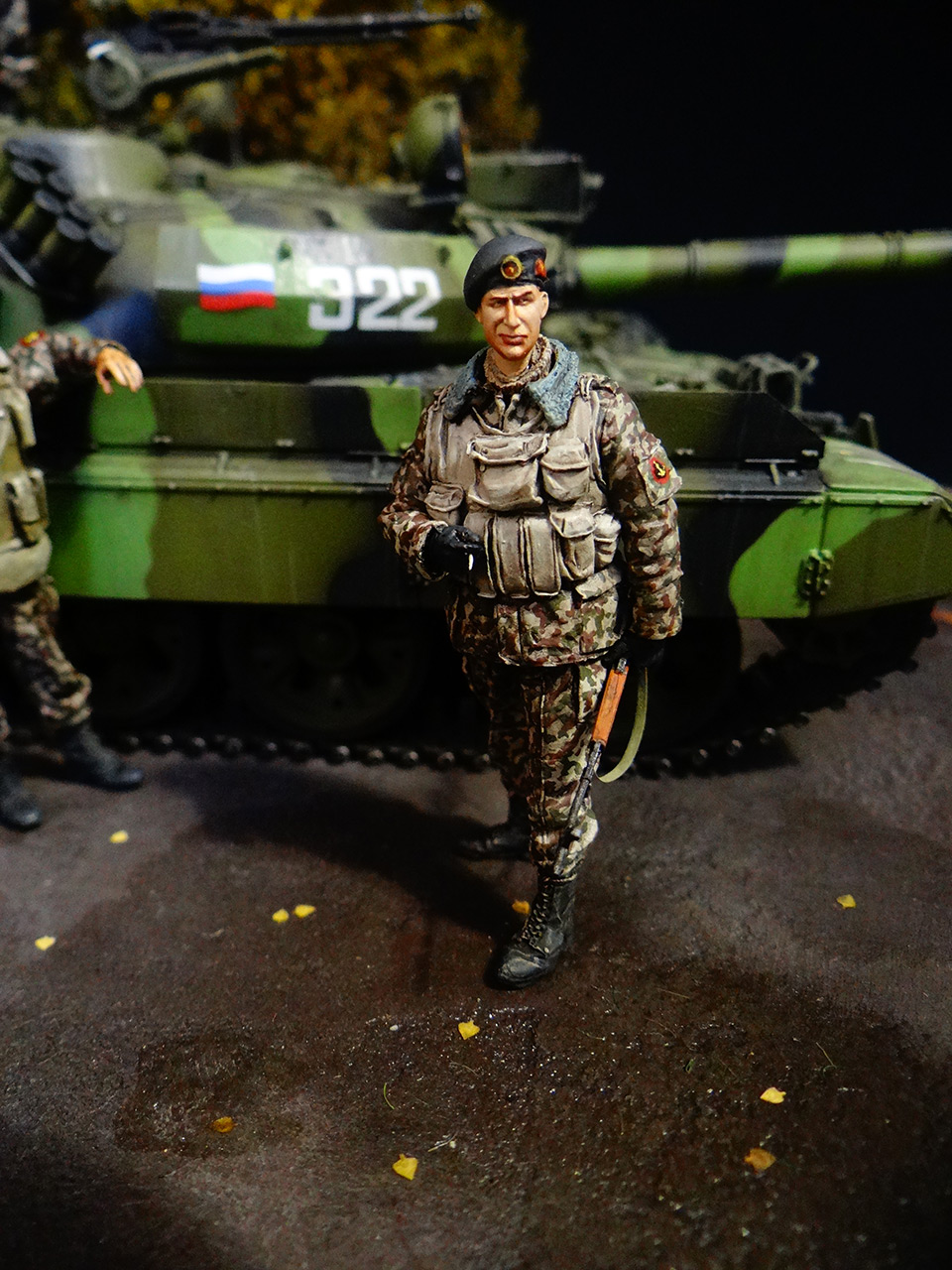 Dioramas and Vignettes: T-55AM, Russian Marines, photo #13