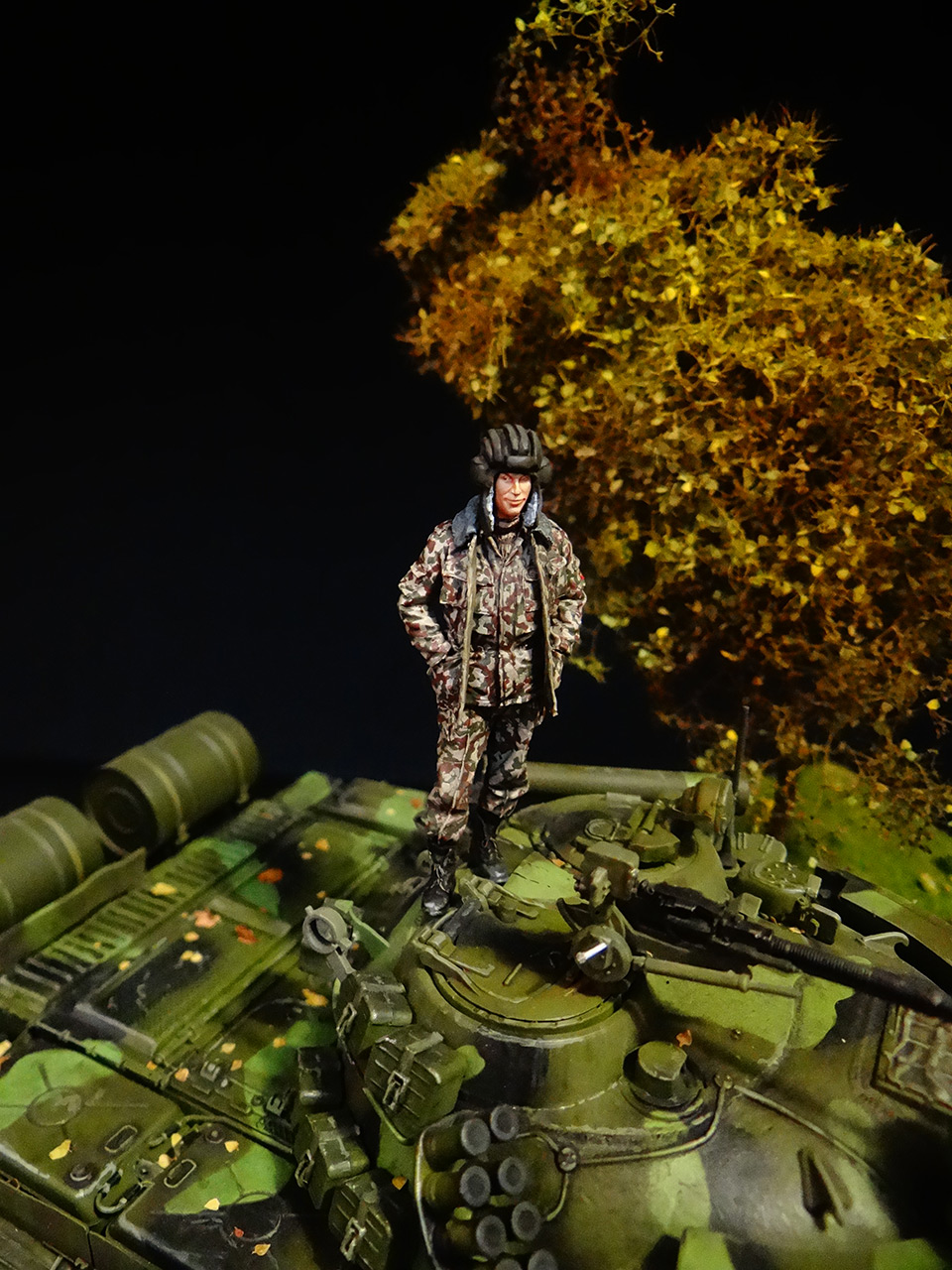 Dioramas and Vignettes: T-55AM, Russian Marines, photo #14