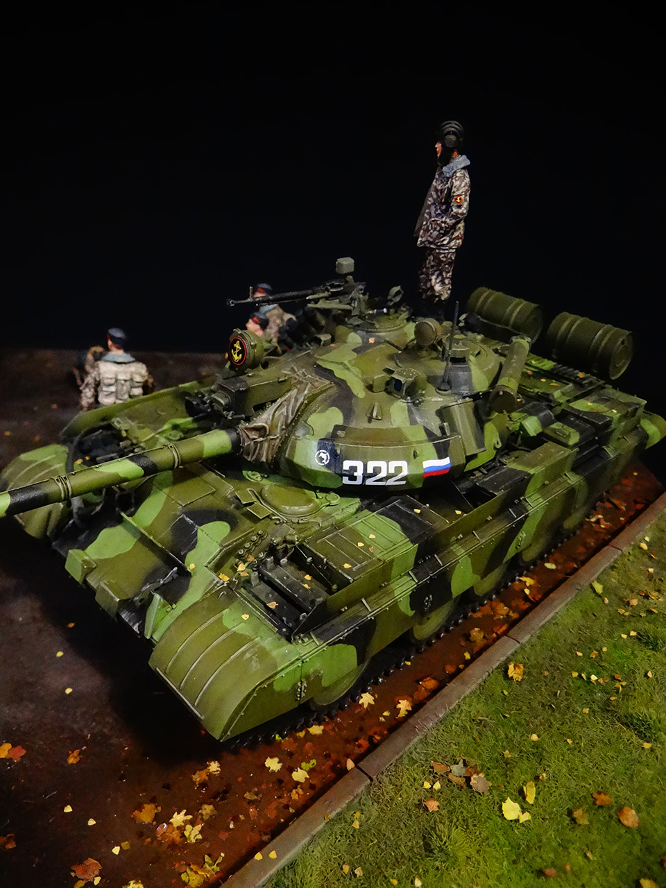 Dioramas and Vignettes: T-55AM, Russian Marines, photo #9
