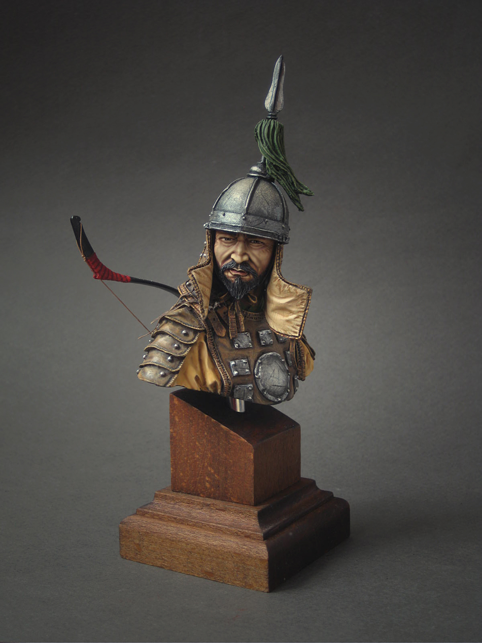Figures: Mongol warrior, photo #1