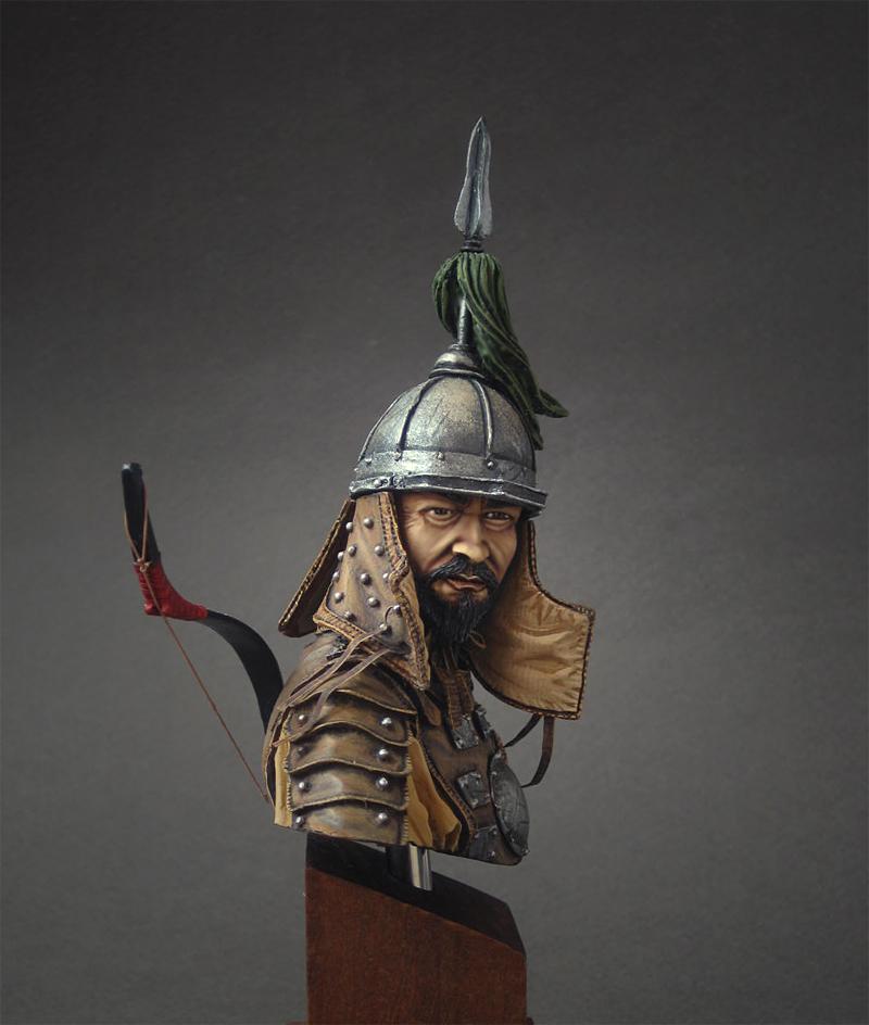 Figures: Mongol warrior, photo #2