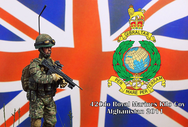 Figures: Royal Marines