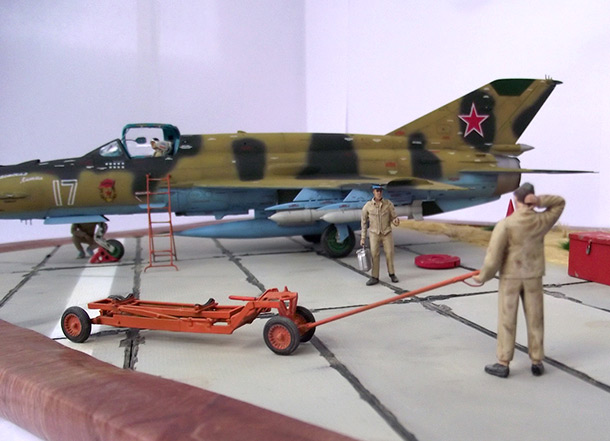 Dioramas and Vignettes: Afghan falcon
