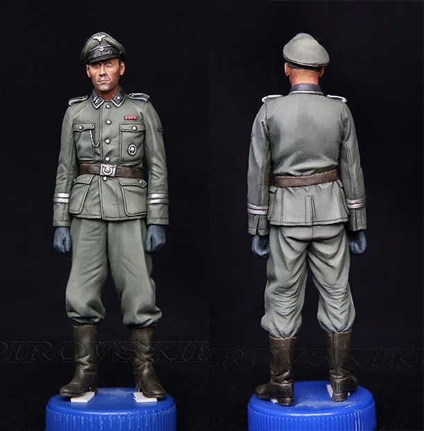 Figures: Company sergeant-major