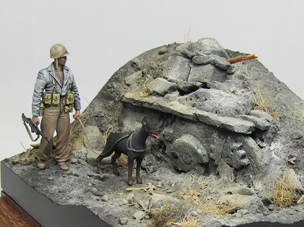 Dioramas and Vignettes: Ghosts of Iwo Jima