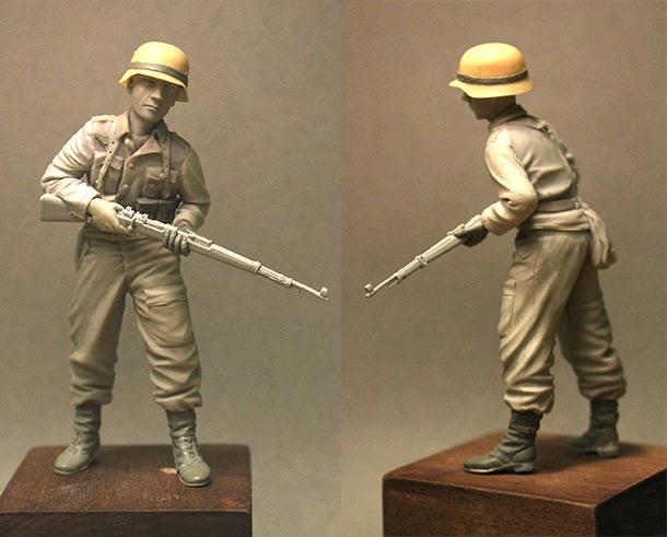 Sculpture: Wehrmacht soldier