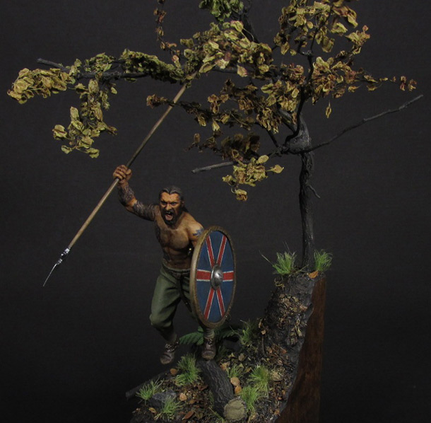Figures: Viking berserker