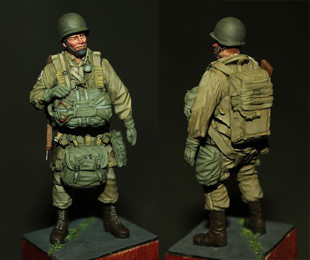 Figures: Paratrooper