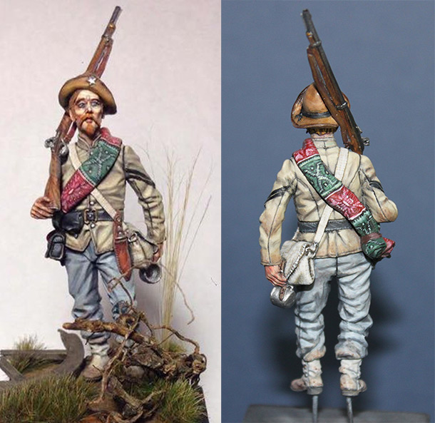 Figures: Corporal, 4th Texas, Gettysburg, 1863