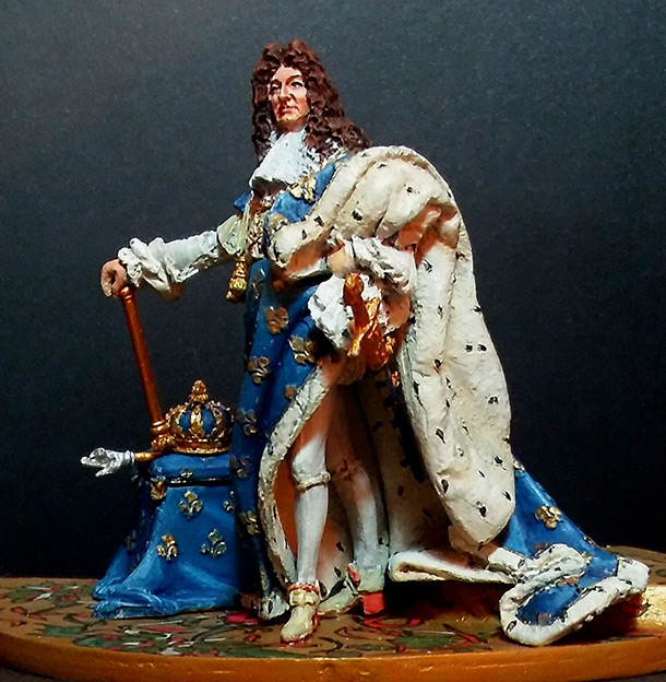 Figures: Louis XIV, Le Roi Soleil