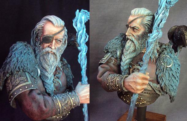 Figures: Odin, ruler of Asgard