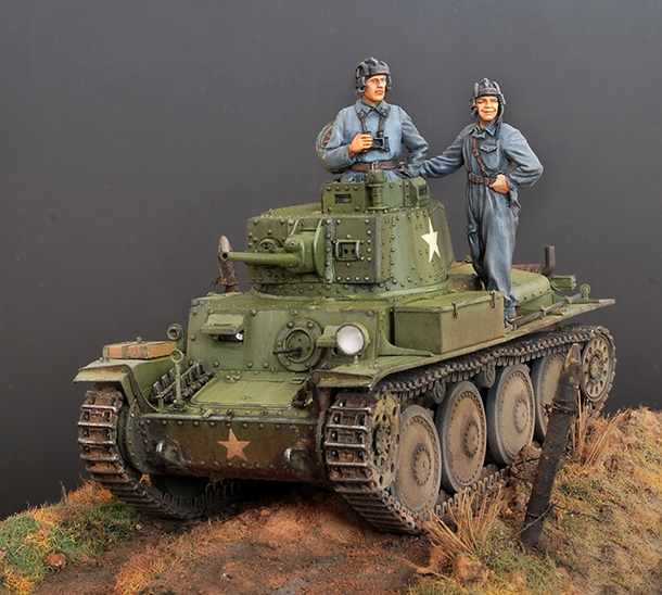 Dioramas and Vignettes: PzKpfw 38(t) Ausf.E at Soviet service