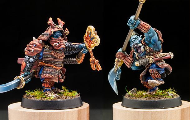 Miscellaneous: Samurai orcs